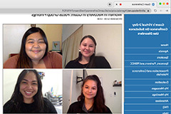 Video call group photo